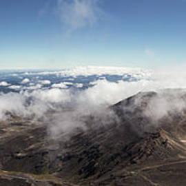 Tongariro Crossing Panorama In New Zealand by Didier Marti