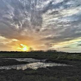 Tonight's Sunset From Thornham
