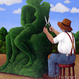 Topiary Kiss - Larry Smart