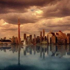 Toronto Canada Skyline P D P by David Dehner