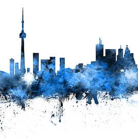 Toronto Canada Skyline Panoramic - Michael Tompsett