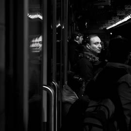 Brian Carson - Toronto Subway Reflection