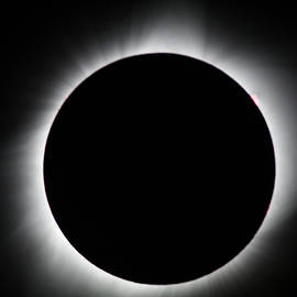 Totality With Solar Flare by Tyler Schlitt