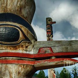 Totem Pole Alaska 13 by Bob Christopher