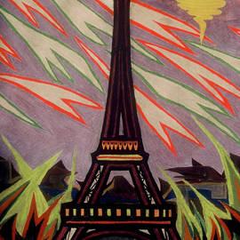Robert SORENSEN - Tour Eiffel et OVNI