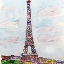 Tour Eiffel by Keshava Shukla
