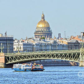 Catherine Sherman - Tourist Boat on Neva River