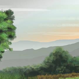 Towards The Valley Of Pleasures by Al G Smith