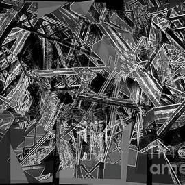 Reid Callaway - Tower Of Babel Construction Abstract Art