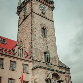 Jenny Rainbow - Tower of Old Town Hall in Prague