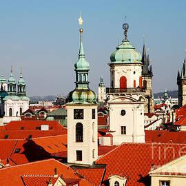 Karin Stein - towers of Prague