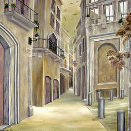 Town Alley by Faye Anastasopoulou
