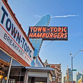 Kevin Anderson - Town Topic Hamburgers Sign