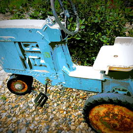 Toy Tractor by Susan Lafleur