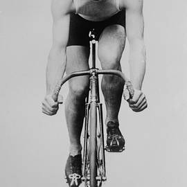 Track Cyclist by Vintage Velo