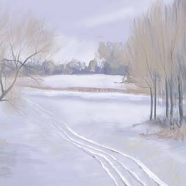 Jeanne Cutler - Tracks in the Snow
