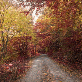 Debra and Dave Vanderlaan - Trail into Fall Painting