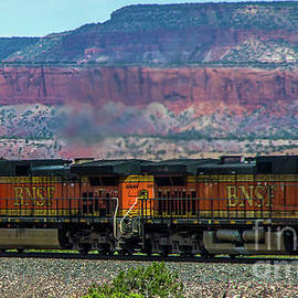 Train and Mesa by Stephen Whalen