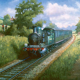 Train on the Isle of Wright. - Mike Jeffries
