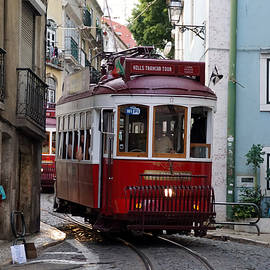 Jolly Van der Velden - Tram in Lisbon