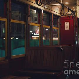 Alex Snow - Tram Interior. New Orleans, La
