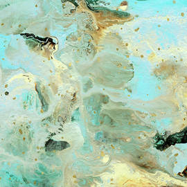 Tranquil Escape- Abstract Art by Linda Woods - Linda Woods