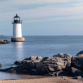 Laura Duhaime - Tranquil Fort Pickering Lighthouse