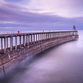 Tranquil Pier - 3 by Chris Smith