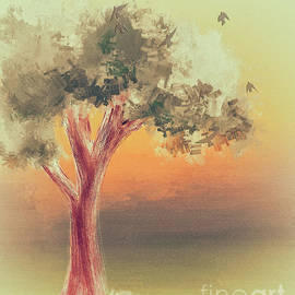 Tree At Dawn by Lois Bryan