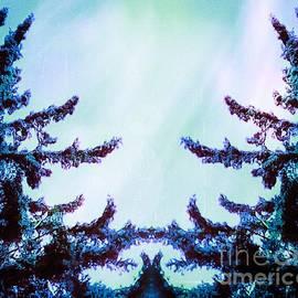 Brenda Plyer - Tree Embrace - blue