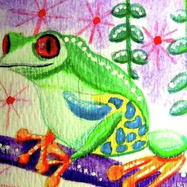 Tree Frog by Monica Resinger