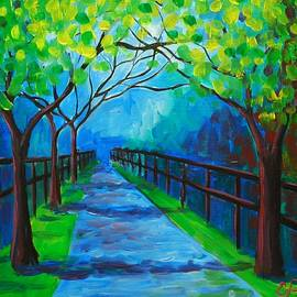 Emily Page - Tree Lined Fence