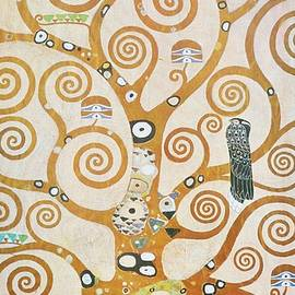 Tree Of Life Detail by Gustav Klimt