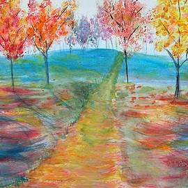 Trees of Autumn by Anne Sands