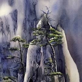 Trees On The Mountain by Alfred Ng