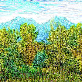 Joel Bruce Wallach - Trees With Mountains