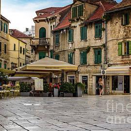 Trg Brace Radic, Split, Croatia by Global Light Photography - Nicole Leffer