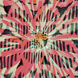Tribal Flower by Claudia O'Brien