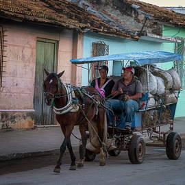 Joan Carroll - Trinidad Cuba Hay Cart