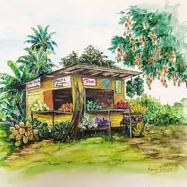 Karin  Dawn Kelshall- Best - Trinidad Roadside Vendor