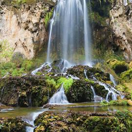 Triple Cascades Waterfall by Norma Brandsberg