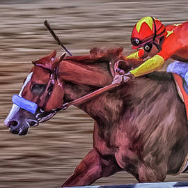 Triple Crown Winner Justify by Rick Mosher