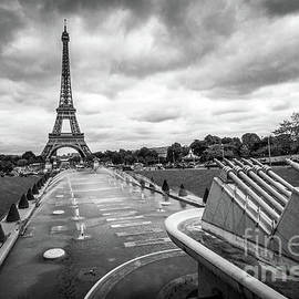 Trocadero Fountains and Eiffel Tower, Paris France by Liesl Walsh