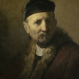 Tronie of an Old Man - Rembrandt