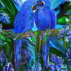 Carol Cavalaris - Tropic Spirits - Hyacinth Macaws