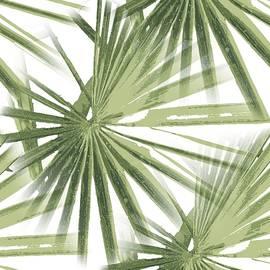 Tropical Beach Palm Vector  by Taiche Acrylic Art