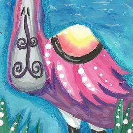 Tropical Bird by Monica Resinger