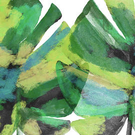 Tropical Dreams 1- Art by Linda Woods - Linda Woods
