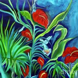 Jenny Lee - Tropical Flowers 1