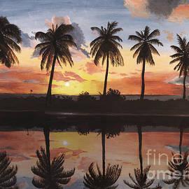 Tropical Glow by Wendy Galletta